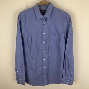 J. Crew Sz 4 Blue Boy Long Sleeve Shirt